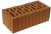 Кирпич керамический строительный полуторный щелевой рифлёный М-150, 250х120х88