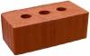 Кирпич керамический строительный двойной щелевой рифленый М-150, 250х120х138