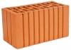 Кирпич керамический строительный полуторный полнотелый рельефный М-125, 250х120х88
