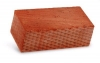 Кирпич керамический строительный полуторный полнотелый гладкий М-150 250x120x88